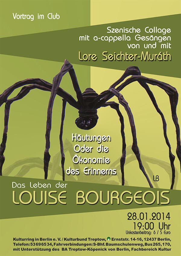 Rückwärts Stricken: über Louise Bourgeois